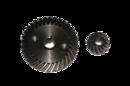 Коническая пара №55 для  УШМ 115, 10х47, 8х19,5 под шпонку крупный шаг