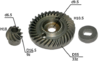 Коническая пара для DeWalt D28130, D28139