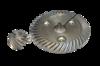 Коническая пара для ИНТЕРСКОЛ УШМ 150 и др. 14х61 42 зуб, 9х21,2 13 зуб
