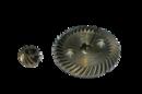 Коническая пара №53 для УШМ 125 10х53 8х19 под шпонку