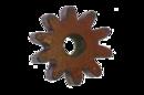 Шестерня на бетономешалку 10 лучей