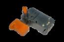 Выключатель (157) для перфораторов и лобзиков  с фиксатором и рег. оборотов