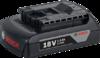 Аккумуляторный блок Bosch GBA 18V 1.5 Ah M-A Professional (арт. 1600Z00035)