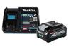 Аккумулятор+з\у, DC40RA-1шт+BL4040-1шт,40В,4.0Ач,Li-ion,кор Makita 199307