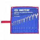 Набор комбинированных ключей 8-24мм 11шт KING TONY 1211MRN