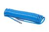 """Шланг пневматический спиральный высокого давления 13х18 мм, 15 м, М1/2"""", полиуретановый MIGHTY SEVEN SD-24415"""