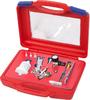 Краскопульт низкого давления, сопло 0,8 мм, мини, верхний бачок, кейс, МАСТАК, арт. 675-008C