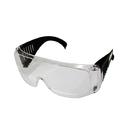 Очки защитные CHAMPION с дужками дымчатые, C1007