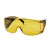 Очки защитные CHAMPION с дужками желтые,C1008