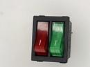 Переключатель (369) KCD4-202/N неон 220v (красный, зеленый, синий, желтый)