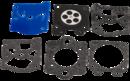 Ремкомплект карбюратора для бензопилы Хусквара 455/460 (5052784-01)