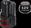 Аккумуляторный блок Bosch GBA 12V 1.5Ah Professional (арт. 1600Z0002W)