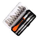 Набор ножей PATRIOT, PKS-16 для точных работ, 3 рукоятки, 13 перовых лезвий, 350004410