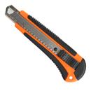 Нож строительный PATRIOT, CKA-182, с выдвижным сегментированным лезвием, автофиксатор, двухкомпонентный пластиковый корпус,18мм, арт. 350004415