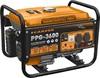 Генератор бенз.  CARVER PPG- 3600 (LT-168F-1, 2,5/2,8кВт, 220В, бак 15л, обмотка медь)