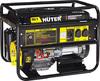 Электрогенератор DY8000LX Huter, электростартер, ручной стартер