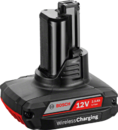 Аккумуляторный блок Bosch GBA 12V 2.5Ah W Wireless charging Professional (арт. 1600A00J0E)