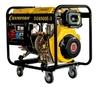 Генератор диз. CHAMPION DG6500E-3 (5/5,5Ква 8,5лс 12л 95,5кг 1,4л/ч 12V эл.старт колес. сч. акк.вн)