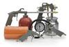 Набор пневмоинструментов из 5 предметов НПИ 005-2