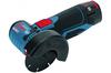 Аккумуляторная угловая шлифмашина Bosch GWS 12V-76 + 1x2.0 Ah + GAL 12V-40 0615990M2P