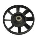 Шкив для бетономешалки ЛЕБЕДЯНЬ с метал. втулкой, внутр. диаметр 15;внешний диаметр - 162. скос