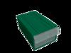 Пластиковый короб Стелла С-2 зеленый/прозрачный