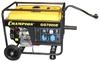 Генератор CHAMPION GG7000E+ATS+газоотвод (5/5,5кВт OHV 13лс 25л 77кг 2,8л/ч 12V эл.старт колеса)