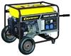 Генератор CHAMPION GG7200E (5/5,5кВт OHV 13лс 25л 77кг 2,8л/ч 12V эл.старт колеса)