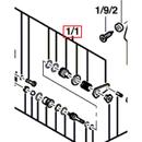 Головка управления для мойки высокого давления (арт. F016F03001)