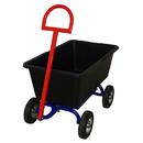 Тележка дворника и садовника с поворотной осью 580х990 ТДС П пневмо 200 (с набором колес) Rusklad