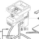 Сборная емкость Bosch (арт. 1605411031)