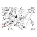 Мотор постоянного тока для газонокосилки (арт. F016104031)