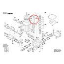 Поршень для минимойки (арт. F016F04327)