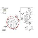 Передняя обшивка для мойки высокого давления Bosch AQT 40-13 (арт. F016F04572)
