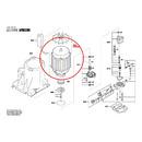 Электромотор для мойки высокого давления Bosch AQT 45-14 X (арт. F016F04644)