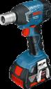 Аккумуляторный ударный гайковёрт Bosch GDS 18 V-LI Professional (арт. 06019A1S0K)