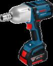 Аккумуляторный ударный гайковерт Bosch Professional GDS 18 V-LI HT (2х5,0A/h) (арт. 06019B130A)