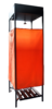 Душ дачный Д-135-П (135л) с подогревом Вихрь