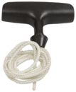 Ручка стартера + шнур стартера для бензопилы Хускварна 120 MARK II, 130, 135 Mark II, 235, 236, 240(5450100-10)