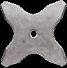 Hож для травы Husqvarna (5784448-01), 4 зубца Multi 275-4Т (20 мм), d - 275 мм