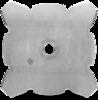 Нож для травы Husqvarna (5784439-01), 4 зубца Grass 255-4Т (20 мм), d - 255 мм