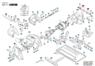 2610925372 Щётки угольные Bosch для дисковых пил L86F12  7,2х12х20 держатель