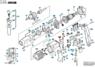 2604321905 Комплект угольных щеток Bosch для CSB, GBM, GSB, GSR, PBH, PSB, PSS
