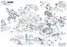 1614460026 Сетевой кабель Bosch для GKE 35 BC, GKE 40 BC, GSH 3, PBH 160 R