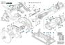 2610918145 Закрывающая крышка Bosch для GKS 600, GKS 65, GKS 65 CE