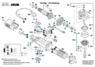 1619P00456 Шарикоподшипник Bosch для GCT, GKS, GNA, GWS