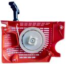 Стартер ручной для бензопилы  45-52, 4 зацепа на шкив