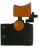 Выключатель (284) для дрель, шуруповерт КАЛИБР, ЭНЕРГОМАШ и др, малый, толст фикс