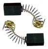 Щетки угольные для МАКИТА -  430 КОР 7х7,4х10 пружина пятак-уши в коробке