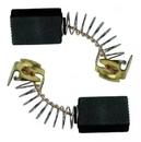 Щетки угольные для МАКИТА -  430 КОР 7х7,4х10 пружина пятак-уши в коробке (2шт.)